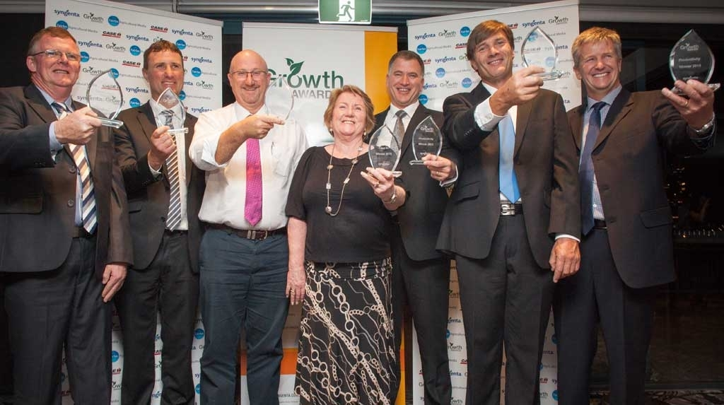 2015 Growth Awards winners